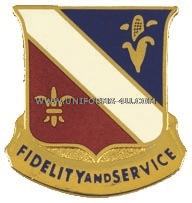ARMY 350 REGIMENT UNIT CREST