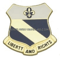 ARMY 349 REGIMENT UNIT CREST