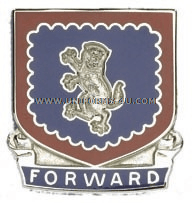ARMY 340 REGIMENT ADVANCED INDIVIDUAL TRAINING UNIT CREST