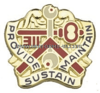 ARMY 311 SUPPORT COMMAND UNIT CREST