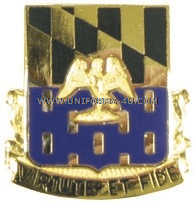 ARMY 313 INFANTRY REGIMENT USAR UNIT CREST
