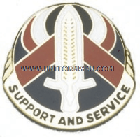 ARMY 328 PERSONNEL SERVICE BATTALION UNIT CREST