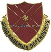 ARMY 13TH AIR DEFENSE ARTILLERY GROUP UNIT CREST