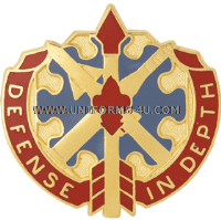 ARMY 18TH AIR DEFENSE ARTILLERY GROUP UNIT CREST