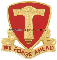 ARMY 18TH SUPPORT BATTALION UNIT CREST