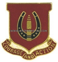 ARMY 26TH FIELD ARTILLERY REGIMENT UNIT CREST