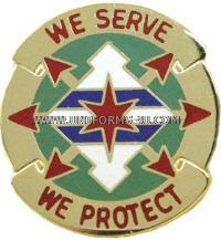 ARMY 33 MILITARY POLICE BATTALION UNIT CREST