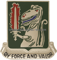 ARMY 40 ARMOR REGIMENT UNIT CREST