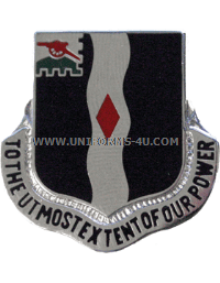 ARMY 60 INFANTRY REGIMENT UNIT CREST