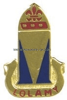 ARMY 68 AIR DEFENSE ARTILLERY REGIMENT UNIT CREST