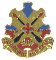 ARMY 69 AIR DEFENSE ARTILLERY BRIGADE UNIT CREST