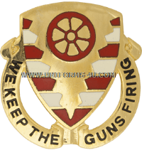 ARMY 70 ORDNANCE BATTALION UNIT CREST