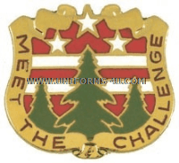 ARMY 124 ARMY RESERVE COMMAND UNIT CREST