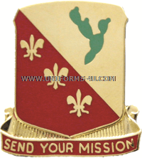 ARMY 129 FIELD ARTILLERY REGIMENT UNIT CREST