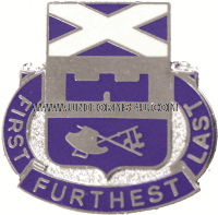 ARMY 139 REGIMENT UNIT CREST
