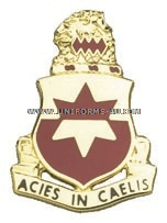 ARMY 254 REGIMENT UNIT CREST