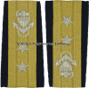USCG REAR ADMIRAL UPPER ENHANCED SHOULDER BOARDS