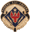 U.S. ARMY SPECIAL TROOPS BATTALION, 1ST ABCT, 4TH INFANTRY DIVISION UNIT CREST