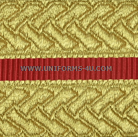 usmc officer gold braid for evening dress uniform trousers