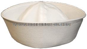 U.S. NAVY WHITE SERVICE HAT