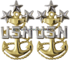 us navy e10 mcpon coat rank devices