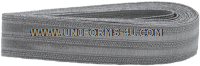 USAF 3/4-INCH SILVER BRAID FOR GENERAL OFFICERS AND CEREMONIAL DUTY PERSONNEL
