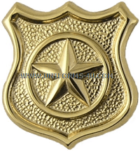 U.S. NAVY CWO MASTER-AT-ARMS (MA) COLLAR DEVICE