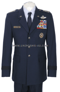 US AIR FORCE OFFICER SERVICE DRESS UNIFORM