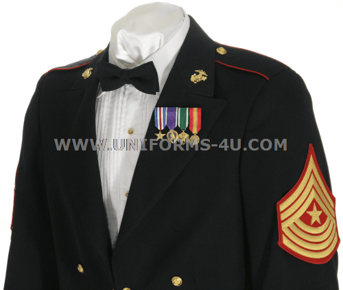 Evening dress united states marine