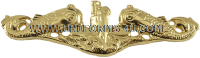 US Navy submarine badge