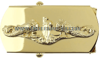 US Navy Submarine Belt Buckle