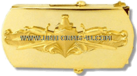 surface warfare officer belt buckle