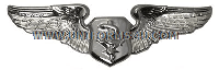 usaf flight nurse badge