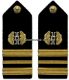 U.S. Navy Judge Advocate General's (JAG) Corps Hard Shoulder Boards