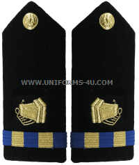 U.S. Navy Chief Warrant Officer (CWO) Photographer Hard Shoulder Boards