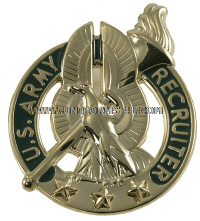 army recruiter badge