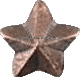 bronze star attachment for ribbons and medals