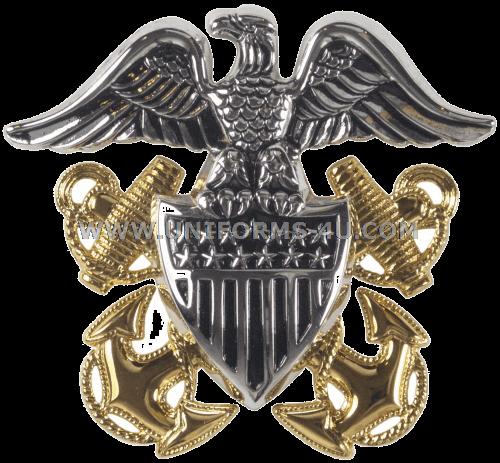 U S  NAVY OFFICER / CWO CAP DEVICE