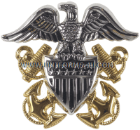 us navy Officer cap device