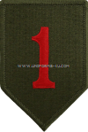 U.S. ARMY 1ST INFANTRY DIVISION PATCH