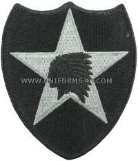 us army 2nd infantry division patch