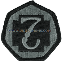 us army 7th medical command patch