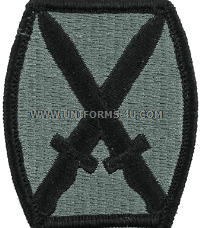 us army 10th infantry patch