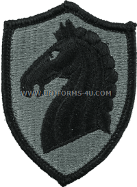 us army 107th armored cavalry patch