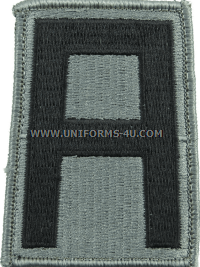 us army 1st army Patch