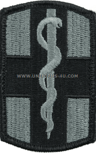 us army 1st medical brigade Patch