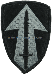 us army 2nd field force Patch