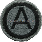 us army 3rd army Patch