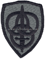 us army 3rd personnel command Patch