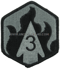 us army 3rd chemical brigade Patch
